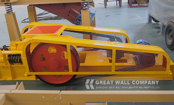 Double roller crusher for sale