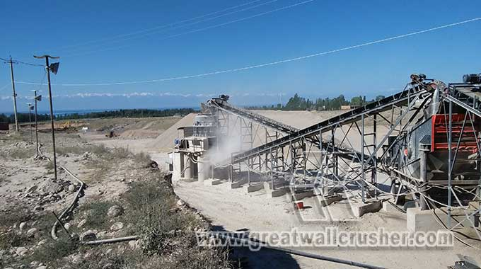 spring cone crusher and jaw crusher in pebble crushing plant Davao