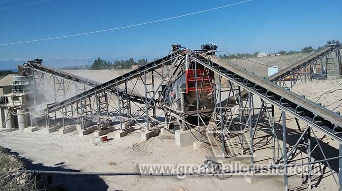 cone crusher in stone crushing plant