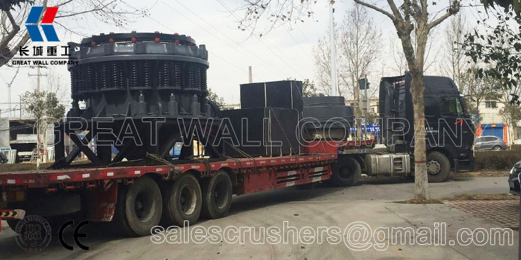 Shipping of 4 1/4 cone crusher for sale
