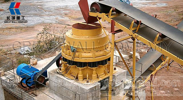 Cone Crusher for sale Peru